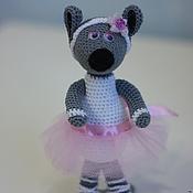 Куклы и игрушки handmade. Livemaster - original item Mouse ballerina Lara knitted. Handmade.