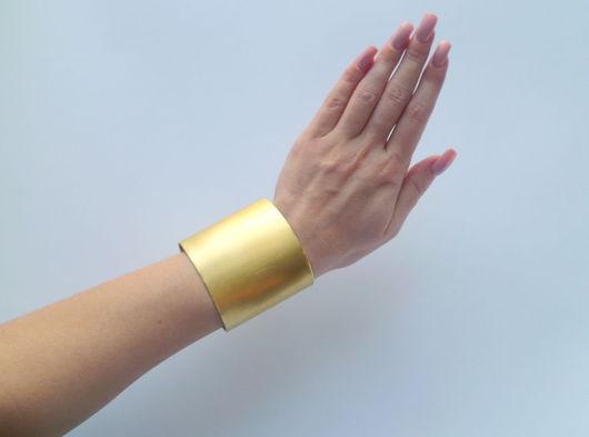 Вышивка ручной работы. Ярмарка Мастеров - ручная работа. Купить Основа для изготовления браслета, 6 см. Handmade. Золотой