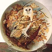 Посуда ручной работы. Ярмарка Мастеров - ручная работа Коллекционная тарелка Англия,Coalport. Handmade.