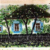 Картины и панно ручной работы. Ярмарка Мастеров - ручная работа Заказ по фотографии. Панно. Handmade.