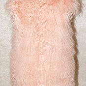 Одежда ручной работы. Ярмарка Мастеров - ручная работа Жилет из ламы. Handmade.