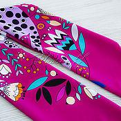 Аксессуары handmade. Livemaster - original item Silk Art Vanensis satin neckerchief