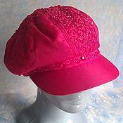 Аксессуары handmade. Livemaster - original item Cap red. Handmade.