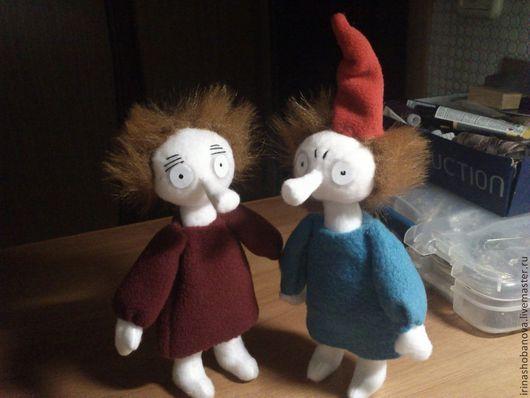 Коллекционные куклы ручной работы. Ярмарка Мастеров - ручная работа. Купить Тофсла и Вифсла. Handmade. Кукла ручной работы