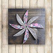 Картины и панно ручной работы. Ярмарка Мастеров - ручная работа Цветок. Handmade.