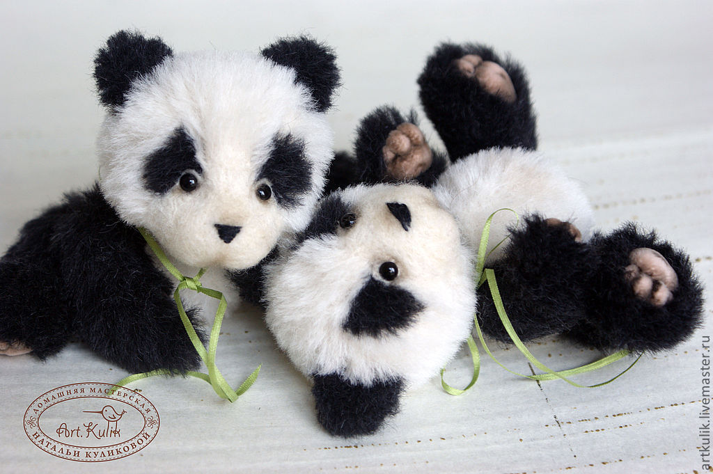 Kids Panda, Stuffed Toys, Omsk,  Фото №1