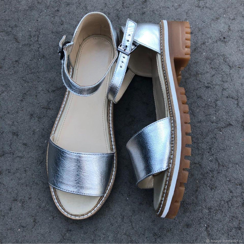 Wind sandals metallic beige sole, Sandals, Moscow,  Фото №1