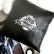 """Для дома и интерьера ручной работы. Ярмарка Мастеров - ручная работа """"JEEP""""  программа машинной вышивки. Handmade."""