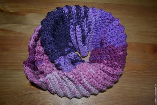 Шапки и шарфы ручной работы. Ярмарка Мастеров - ручная работа. Купить Шарф-снуд. Handmade. Шарф, снуд, шарф-труба
