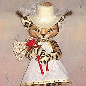 Куклы и игрушки ручной работы. Ярмарка Мастеров - ручная работа Маленькая рысь Мирра. Handmade.