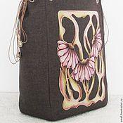 Сумки и аксессуары handmade. Livemaster - original item Bag with painting