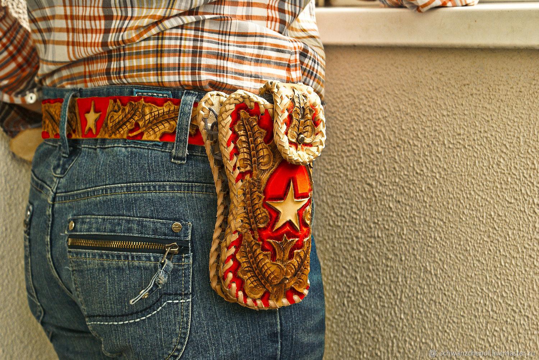 Leather wallet-phone case ' Holster', Wallets, Krasnodar,  Фото №1
