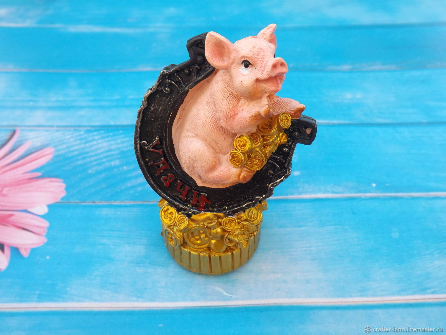 Silicone mold 'Pig and horseshoe', Form, Moscow,  Фото №1