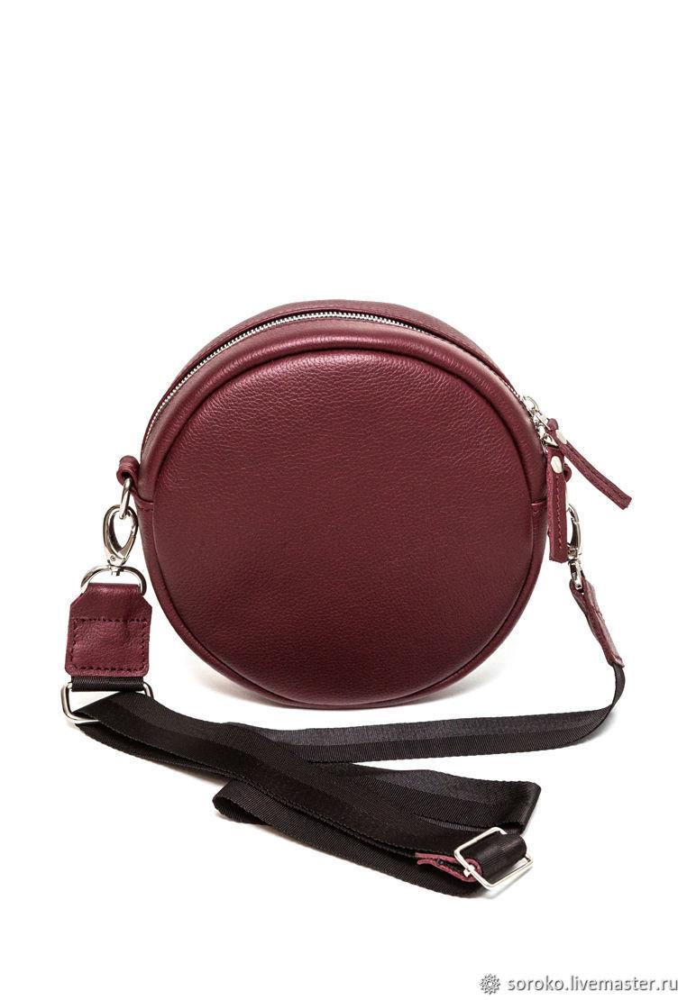 Handbags handmade. Livemaster - handmade. Buy Copy of Copy of Women's small leather black crossbody bag.Bag