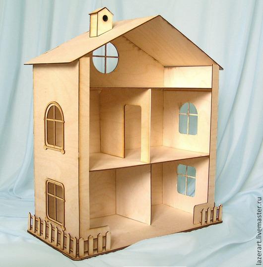 Кукольный дом ручной работы. Ярмарка Мастеров - ручная работа. Купить Кукольный дом №1. Handmade. Бежевый, для кукол, кукольный