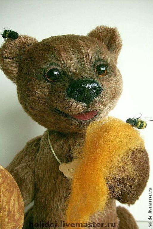 """Мишки Тедди ручной работы. Ярмарка Мастеров - ручная работа. Купить мишка """"ПОТАПКА"""". Handmade. Мишки тедди, игрушка"""