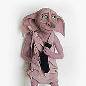 """Куклы и игрушки ручной работы. Ярмарка Мастеров - ручная работа Добби (""""Хозяин подарил Добби носок!""""). Handmade."""
