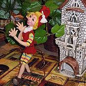Куклы и игрушки ручной работы. Ярмарка Мастеров - ручная работа БУРАТИНО, интерьерная кукла. Handmade.