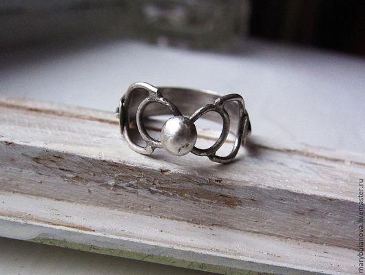 Кольца ручной работы. Ярмарка Мастеров - ручная работа. Купить Серебряное кольцо. Handmade. Серебряный, серебро 925 пробы
