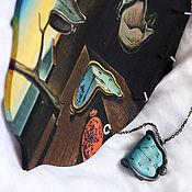 Для дома и интерьера handmade. Livemaster - original item Housekeeper-panels on motives of Salvador Dali. Handmade.