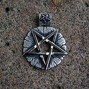 Украшения handmade. Livemaster - original item Antique pentagram. Handmade.