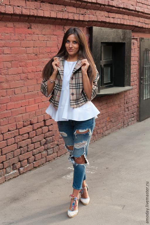 Coat `Avtoledi cashmere and wool from AMODAY