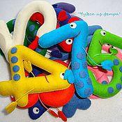 Куклы и игрушки ручной работы. Ярмарка Мастеров - ручная работа Цифры для малыша (решаем задачки). Handmade.