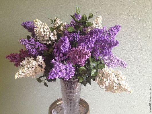 Цветы ручной работы. Ярмарка Мастеров - ручная работа. Купить Аромат весны. Handmade. Сирень, цветы в украшении