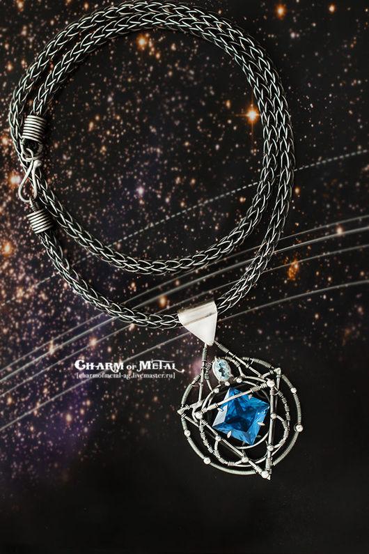 """Кулоны, подвески ручной работы. Ярмарка Мастеров - ручная работа. Купить """"Stellar Astrolabe"""" Серебряный кулон. Handmade. Украшение, планета"""