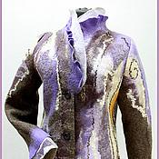 "Одежда ручной работы. Ярмарка Мастеров - ручная работа Пальто""Закат зимы"". Handmade."