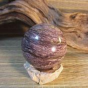 """Подарки к праздникам ручной работы. Ярмарка Мастеров - ручная работа 45мм. Чароит Шар """" Природный камень. Handmade."""