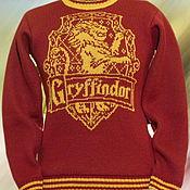 """Одежда ручной работы. Ярмарка Мастеров - ручная работа Тату-свитер - Факультет """"Гриффиндор""""(по мотивам к/ф о Гарри Поттере). Handmade."""