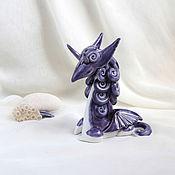 Для дома и интерьера ручной работы. Ярмарка Мастеров - ручная работа Волшебный керамический дракон. Handmade.