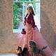Коллекционные куклы ручной работы. Дама с собачкой. Лариса Исаева (kuklaelli). Ярмарка Мастеров. Собачка