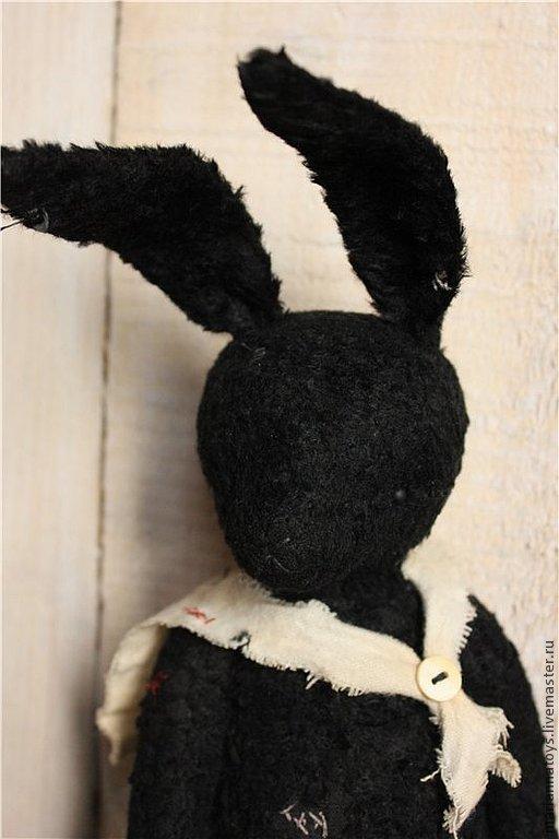 """Мишки Тедди ручной работы. Ярмарка Мастеров - ручная работа. Купить """"Морской волк"""". Handmade. Черный, робби-морячок"""
