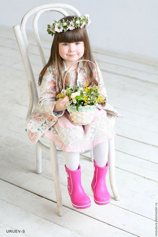 Одежда для девочек, ручной работы. Ярмарка Мастеров - ручная работа. Купить Пальто для девочки. Handmade. Комбинированный, пальто на заказ