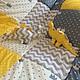 Пледы и одеяла ручной работы. Заказать Одеяло коврик в вигвам или детскую комнату. Юлия (MasterskayaNYS). Ярмарка Мастеров.