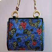 Классическая сумка ручной работы. Ярмарка Мастеров - ручная работа Сумка Гроздь винограда. Handmade.