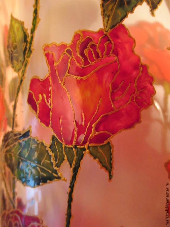 Вазы Маки и Розы