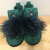 Обувь ручной работы. Ярмарка Мастеров - ручная работа Валенки со стразами Swarowski. Handmade.