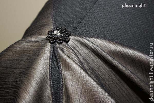 Шелковая блузка для полных