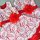 Детское платье красное кружевное, Платья, Ижевск, Фото №1