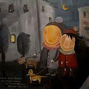 Картины и панно ручной работы. Ярмарка Мастеров - ручная работа Счастливы вместе. Handmade.