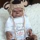 Куклы-младенцы и reborn ручной работы. Герман. Наталия Сомова (mireku). Интернет-магазин Ярмарка Мастеров. Обезьяна, обезьянка реборн