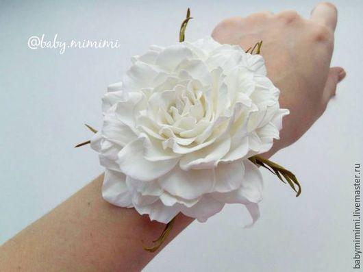 Цветы ручной работы. Ярмарка Мастеров - ручная работа. Купить Роза из фоамирана. Handmade. Комбинированный, фоамиран иранский, фоамиран, роза