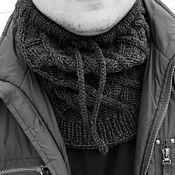"""Аксессуары ручной работы. Ярмарка Мастеров - ручная работа Снуд """"Ромб"""". Handmade."""