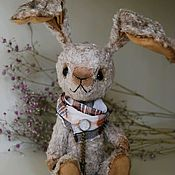 Куклы и игрушки ручной работы. Ярмарка Мастеров - ручная работа Друг тедди, заяц Питер. Handmade.