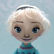 Куклы и игрушки ручной работы. Ярмарка Мастеров - ручная работа Эльза. Интерьерная куколка. Handmade.