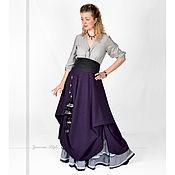 Одежда ручной работы. Ярмарка Мастеров - ручная работа Теплая бохо юбка комплект. Handmade.