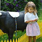 Работы для детей, ручной работы. Ярмарка Мастеров - ручная работа Детская   юбка. Handmade.